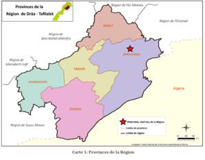 Présentation de la région de Drâa Tafilalet