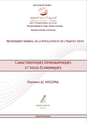 RGPH 2014 - Séries provinciales