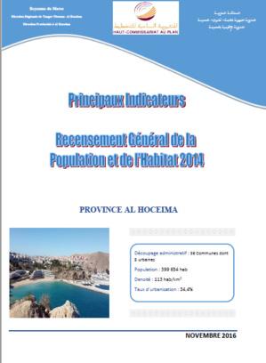Les principaux indicateurs démographiques et socio-économiques de la province d'Al Hoceima selon le RGPH 2014