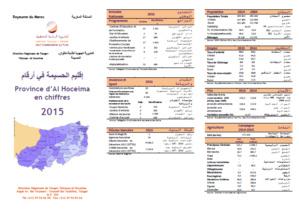 Dépliant de la province d'Al Hoceima en chiffres