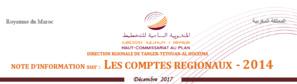 Note d'information sur : LES COMPTES RÉGIONAUX - 2014