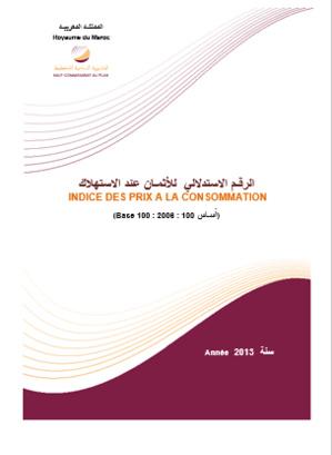 I'Indice des Prix à la Consommation (IPC) - Année 2013 - Niveau national
