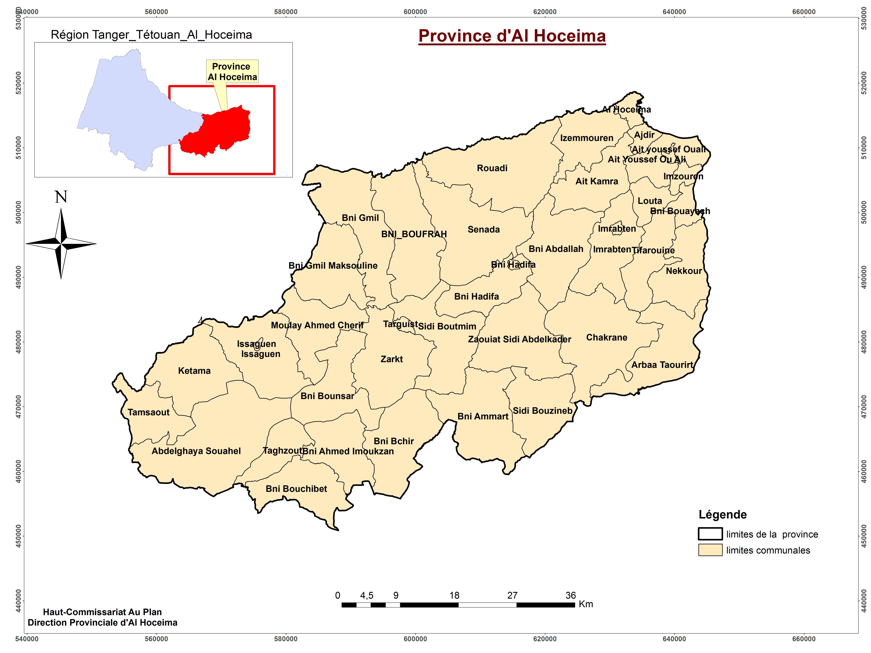 Présentation de la province d'Al Hoceima