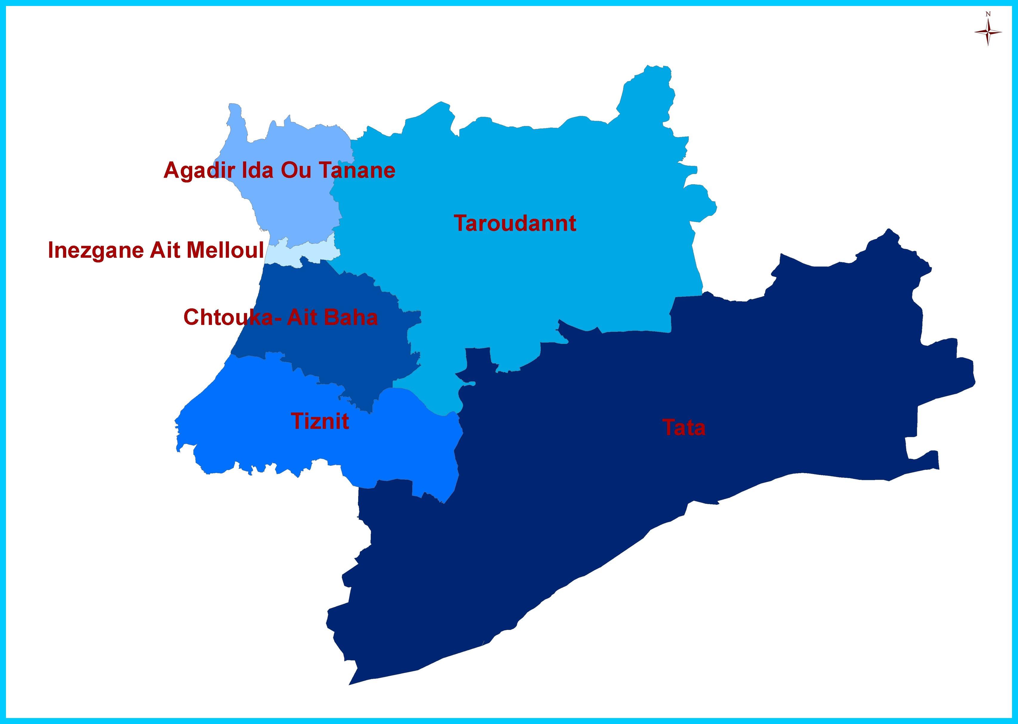 Vue d'ensemble sur la région Souss Massa