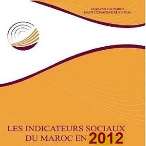 Les indicateurs sociaux du Maroc 2012