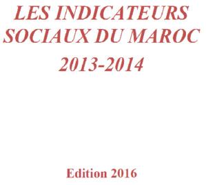 Les indicateurs sociaux du Maroc 2013-2014