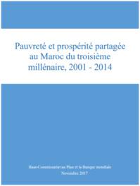 Pauvreté et prospérité partagée au Maroc du troisième millénaire, 2001-2014