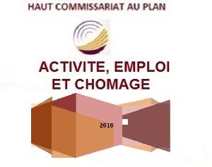 Activité, emploi et chômage: premiers résultats 2016