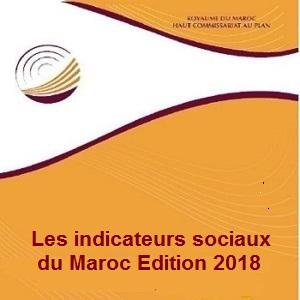 Les indicateus sociaux du Maroc, Edition 2018