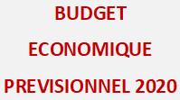 Le budget économique prévisionnel 2020 : La situation économique en 2019 et ses perspectives en 2020