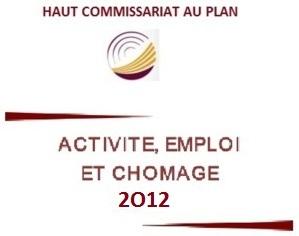 Activité, emploi et chômage Année 2012