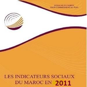 Les indicateurs sociaux du Maroc en 2011