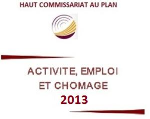 Activité, emploi et chômage Année 2013