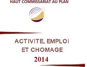 Activité, emploi et chômage Année 2014