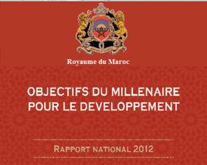 Objectifs du Millénaire pour le Développement: rapport national 2012
