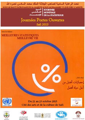Communiqué de la Direction Régionale au Plan de Doukala-Abda: Sous le Haut-Patronage de Sa Majesté le Roi Mohammed VI, le Royaume du Maroc célèbre la Journée Mondiale de la Statistique