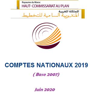 Comptes nationaux 2019 (Base 2007)