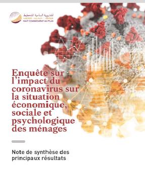 Enquête sur l'impact du coronavirus sur la situation économique, sociale et psychologique des ménages: Note de synthèse des principaux résultats