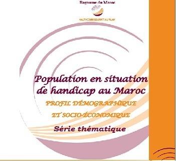 Population en situation de handicap au Maroc