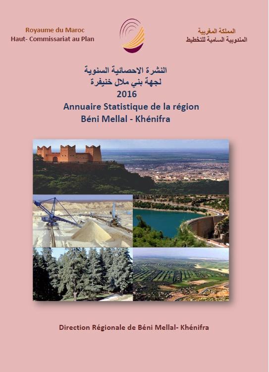 Annuaire statistique de la Région Béni Mellal- Khénifra 2016