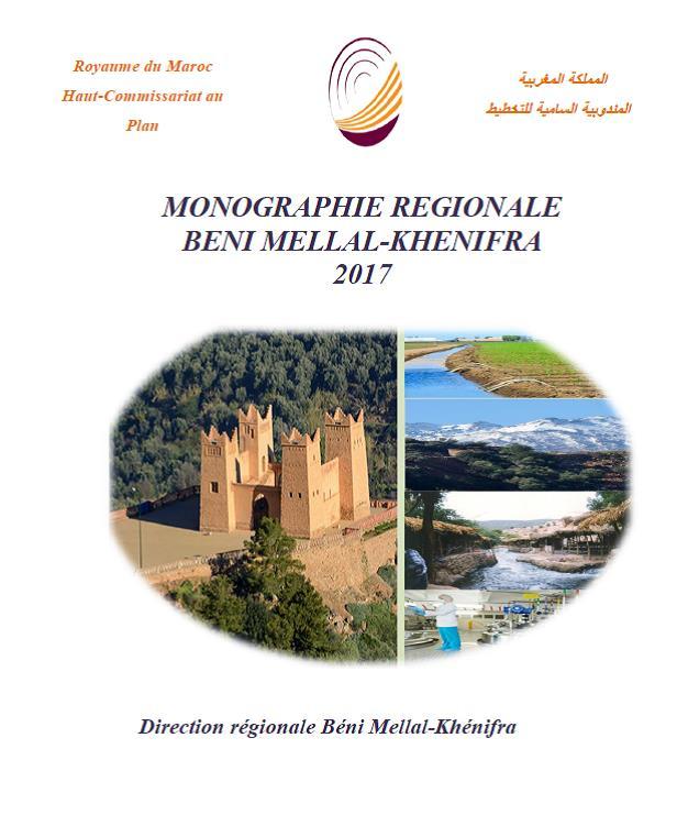 Monographie de la région Béni Mellal- Khénifra 2017