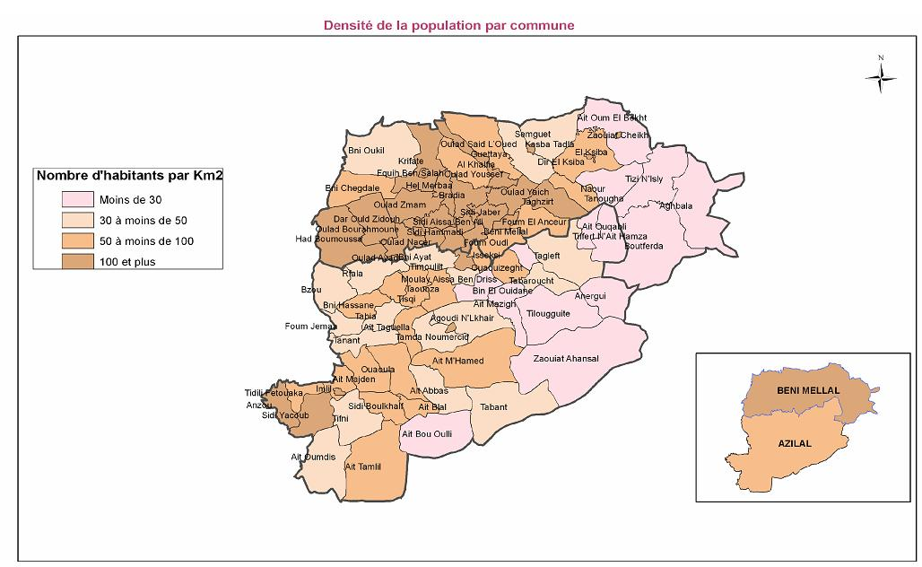 Région en cartes