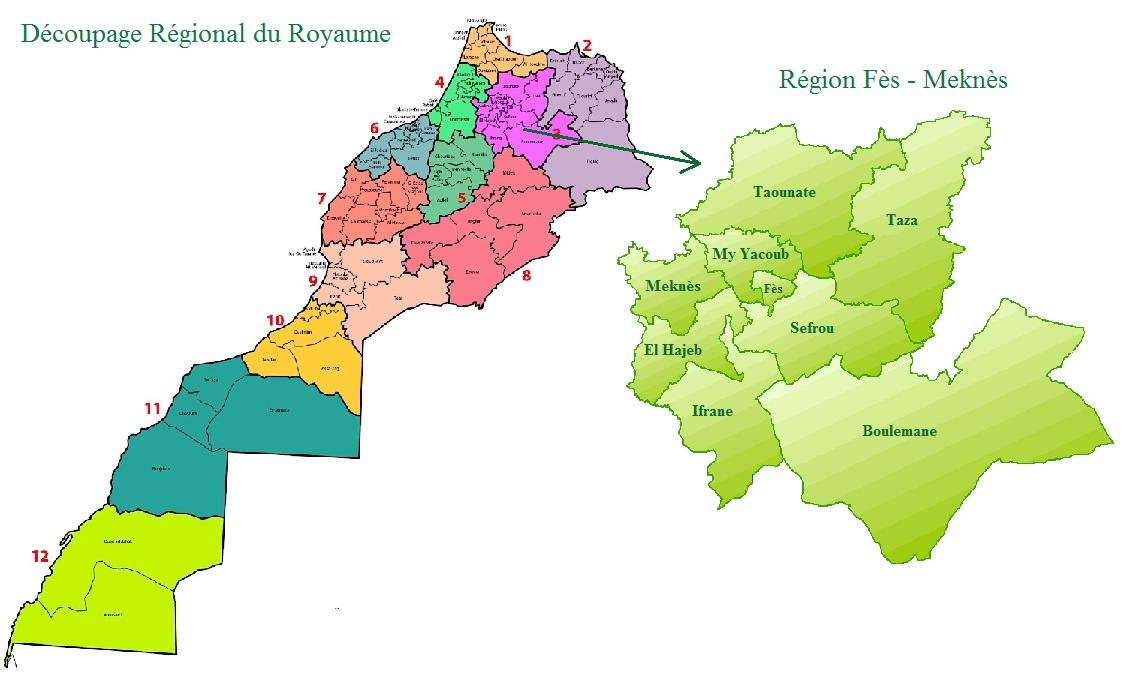 Vue d'ensemble de la région
