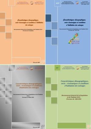 Caractéristiques démographiques et socio économiques province Guelmim, TanTan, Assa-Zag RGPH 2014
