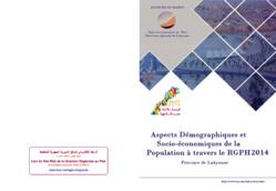 Aspects Démographiques et Socio-économiques de la Population à travers le RGPH 2014. Province de Laayoune.