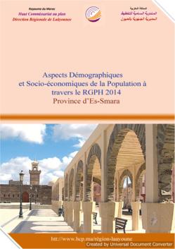 Aspects Démographiques et Socio-économiques de la Population à travers le RGPH 2014 Province d'Es-Smara.