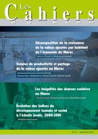 Les Cahiers du Plan N° 50 - Janvier / Février 2018