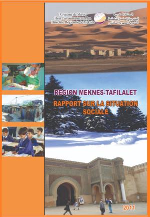 Rapport sur la Situation Sociale: Région Meknès - Tafilalet 2011