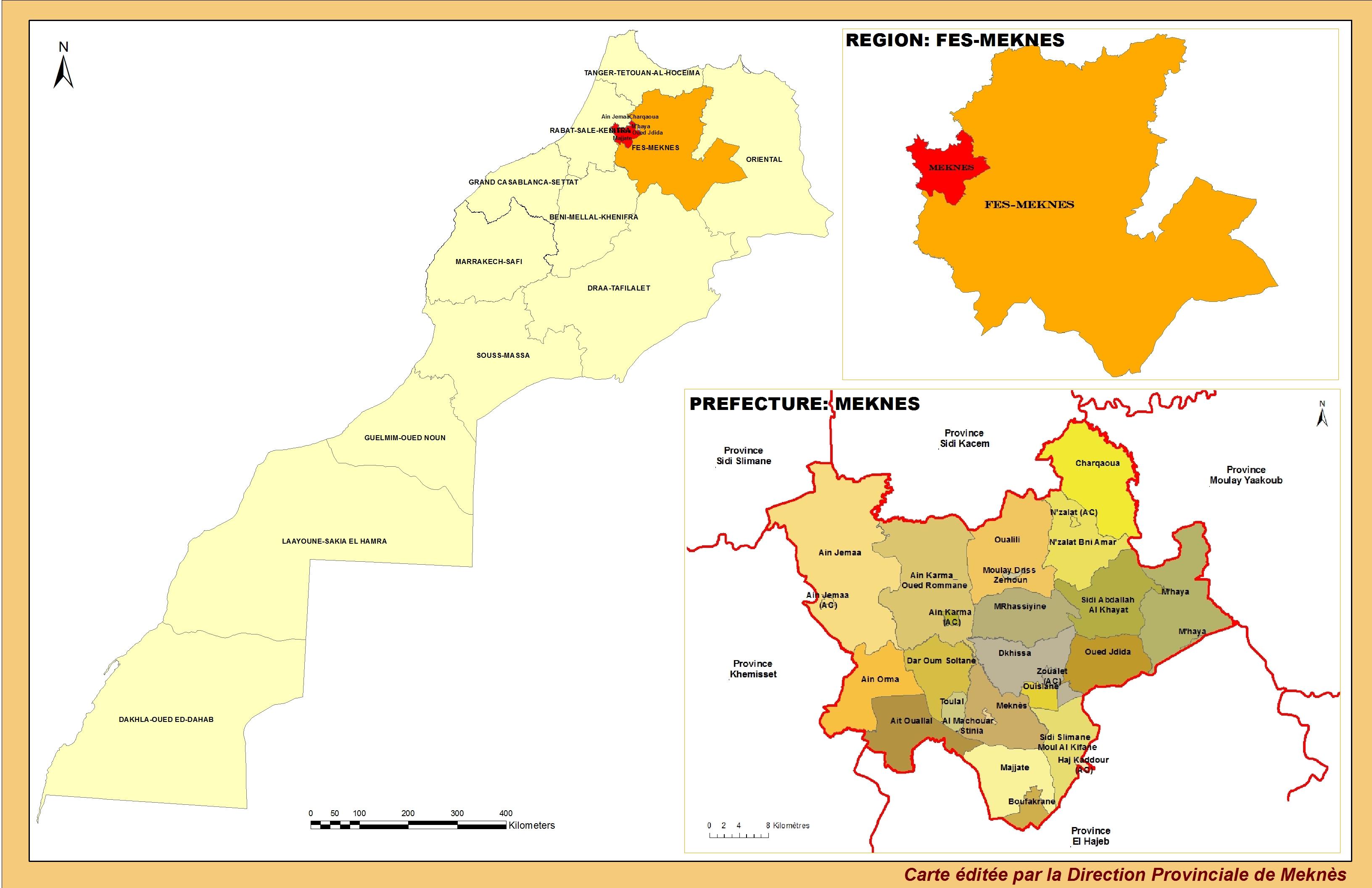 A propos de la Préfecture de Meknès