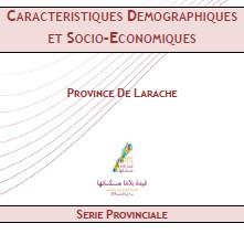 Série provinciale de la province de LARACHE RGPH 2014