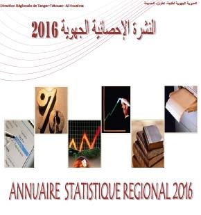 Annuaire Statistique Région Tanger_Tétouan-Al Hoceima 2016