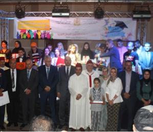 المشاركة في حفل التميز بإقليم الفحص أنجرة برسم الموسم الدراسي 2018-2019