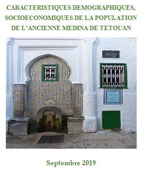 Caractéristiques Démographiques, Socio-économiques de la population de l'ancienne Médina de Tétouan