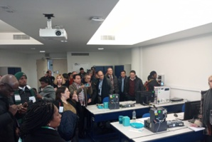 Visite de la délagation marocaine à Siemens Manchester