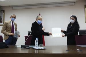 تكريم السيد المندوب السامي للتخطيط لفريق إعداد قاعدة المعطيات الجهوية لطنجة