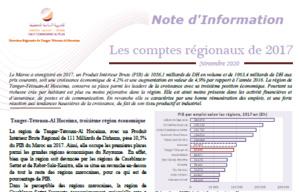 Note d'information sur les comptes régionaux 2017