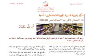 Note IPC Avril 2021 Tanger_Tétouan_Al Hoceima (Base 100:2017)