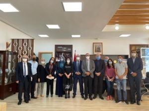 جلسة عمل بين رئاسة جامعة عبد المالك السعدي والمديرية الجهوية للتخطيط بطنجة