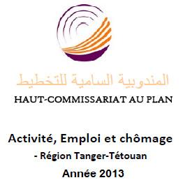 Rapport sur l'Activité, Emploi et chômage - Région Tanger-Tétouan- 2013
