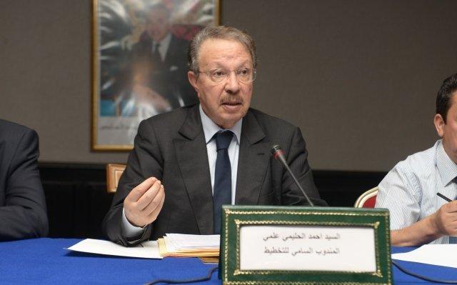 Présentation de l'étude « formation et emploi au Maroc» par M. Ahmed Lahlimi, Haut-Commissaire au Plan