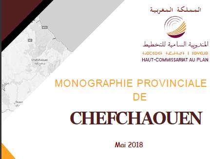 Monographie provinciale de Chefchaouen 2018